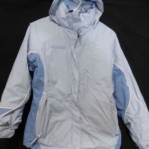 Columbia blue, small, 3 in 1 jacket with hoodie